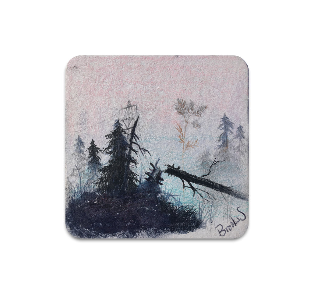 Brooks Salzwedel - Broken Tree and Sail Coaster
