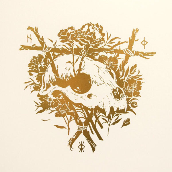 Teagan White - Little Funeral Gold Foil