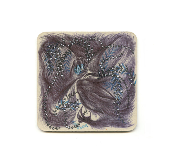 S1 Catherine Ho - Hunter Grey Coaster