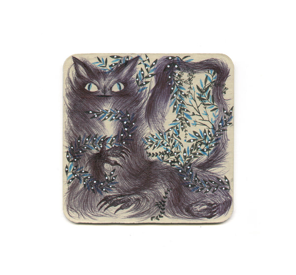 S1 Catherine Ho - Majestic Grey Coaster