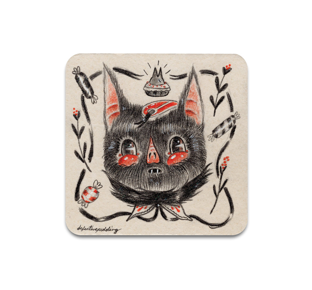 S3 Christa Dippel - Hear No Evil Coaster