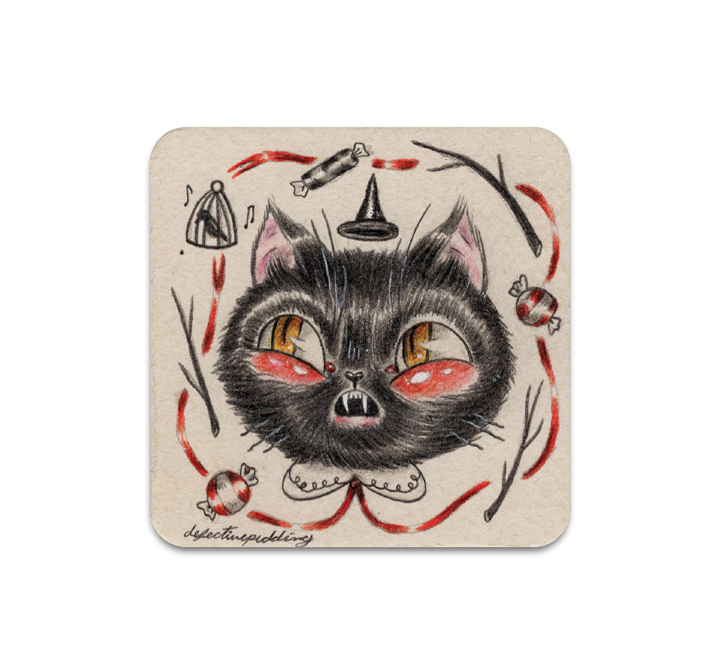 Christa Dippel - See No Evil Coaster