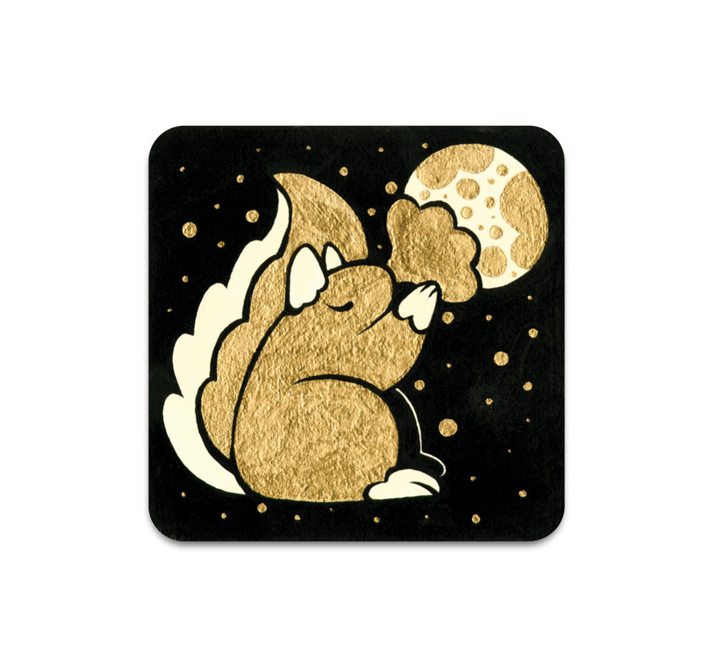Cleonique Hilsaca - Squirrel Coaster