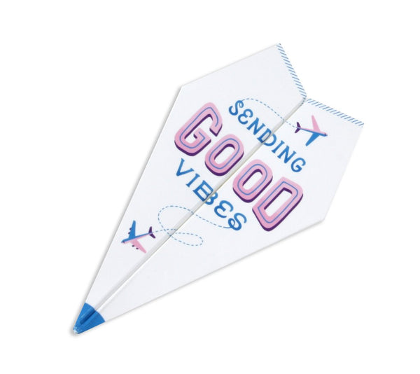 Paper Airplane Card