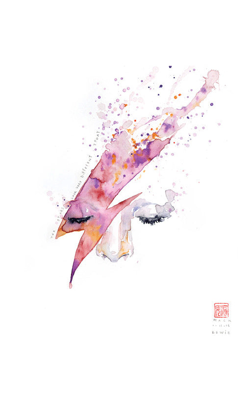 David Mack - THE STARS LOOK VERY DIFFERENT TODAY (BOWIE)