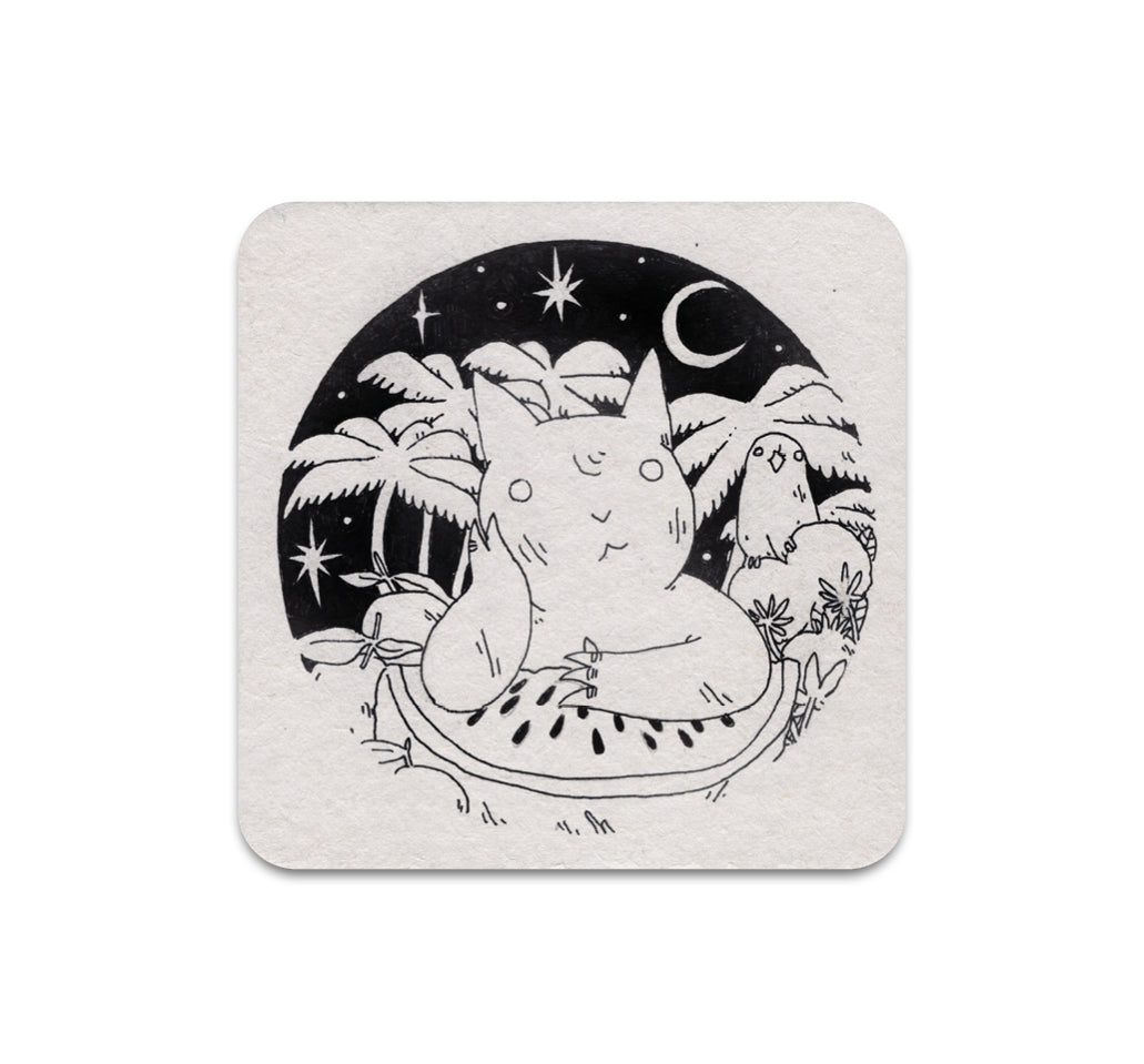 Deth P. Sun - Untitled 2 Coaster