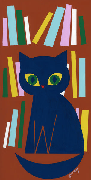 Ellen Surrey - Bookstore Cat