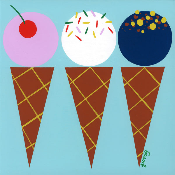 Ellen Surrey - Ice Cream Cones