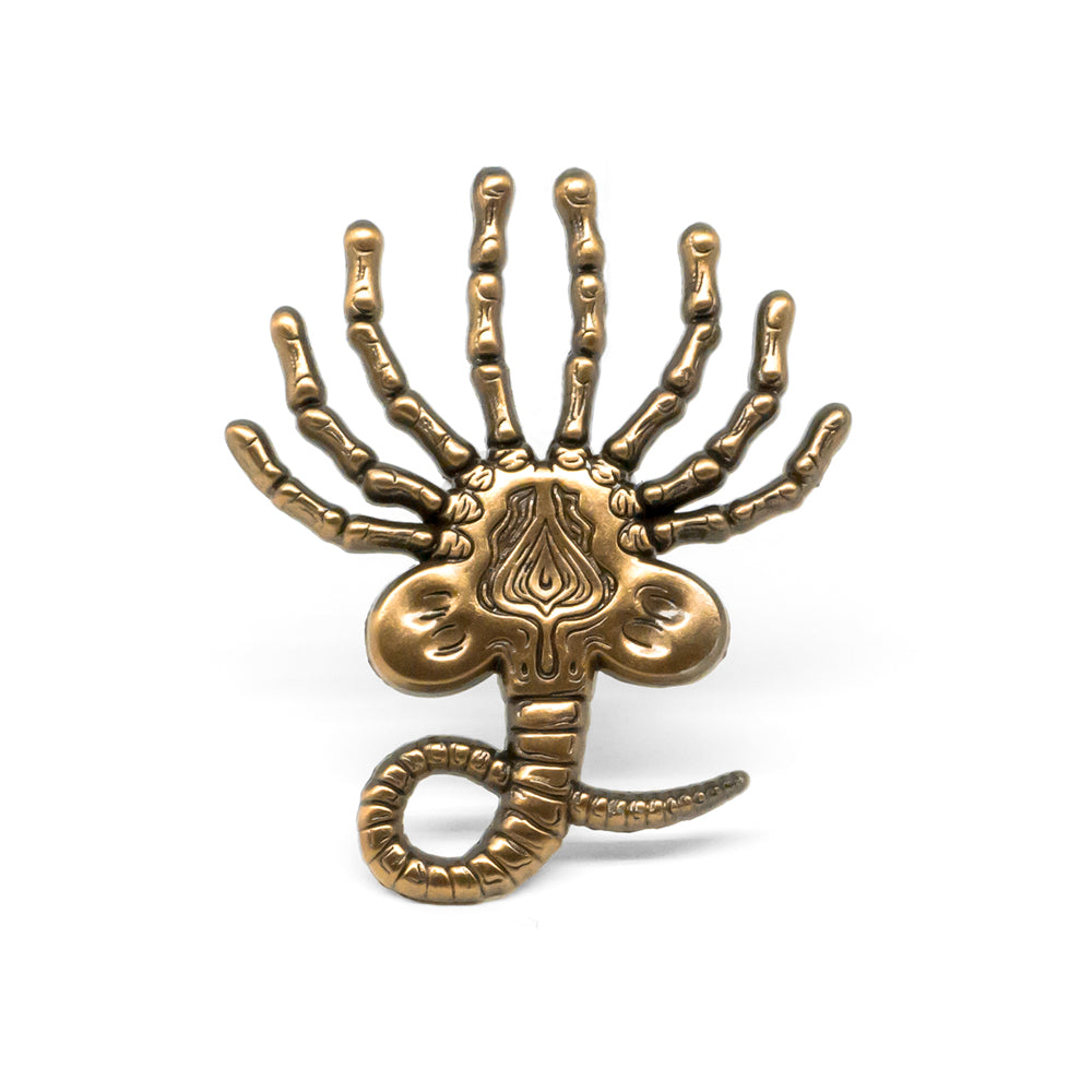 Facehugger Pin