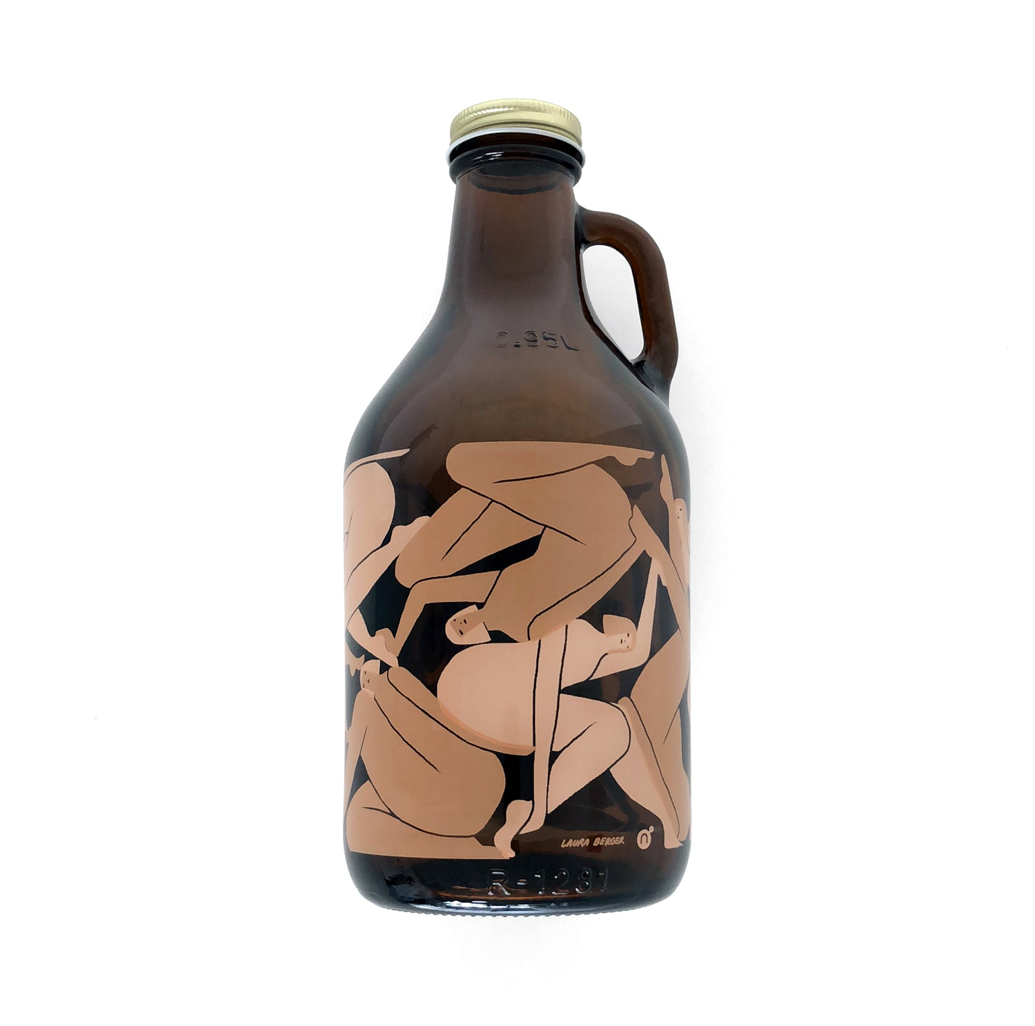 Laura Berger - Wrap Growler