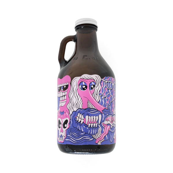 Matt Furie - Monster Crowd Growler