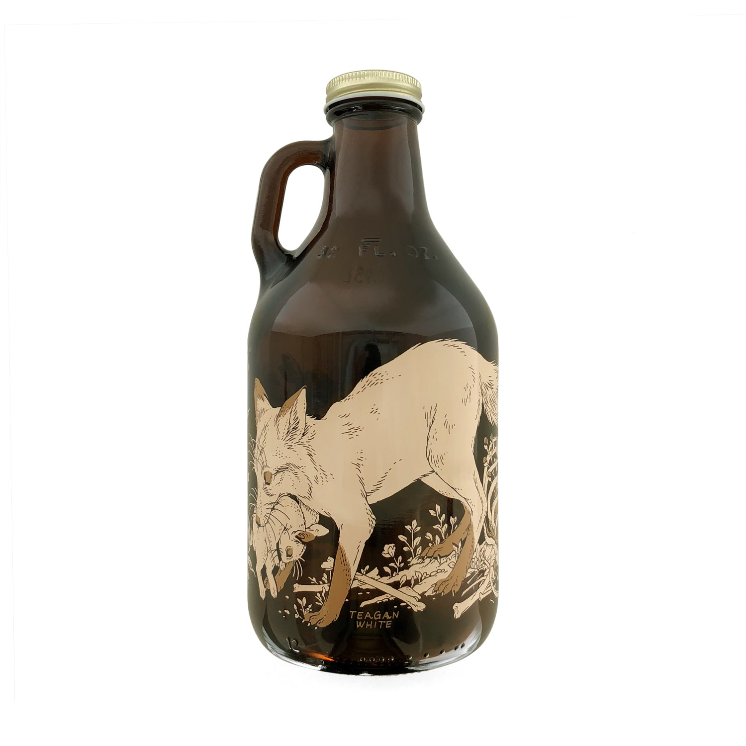 Tegan White - Garden & Grave 32 oz. Growler