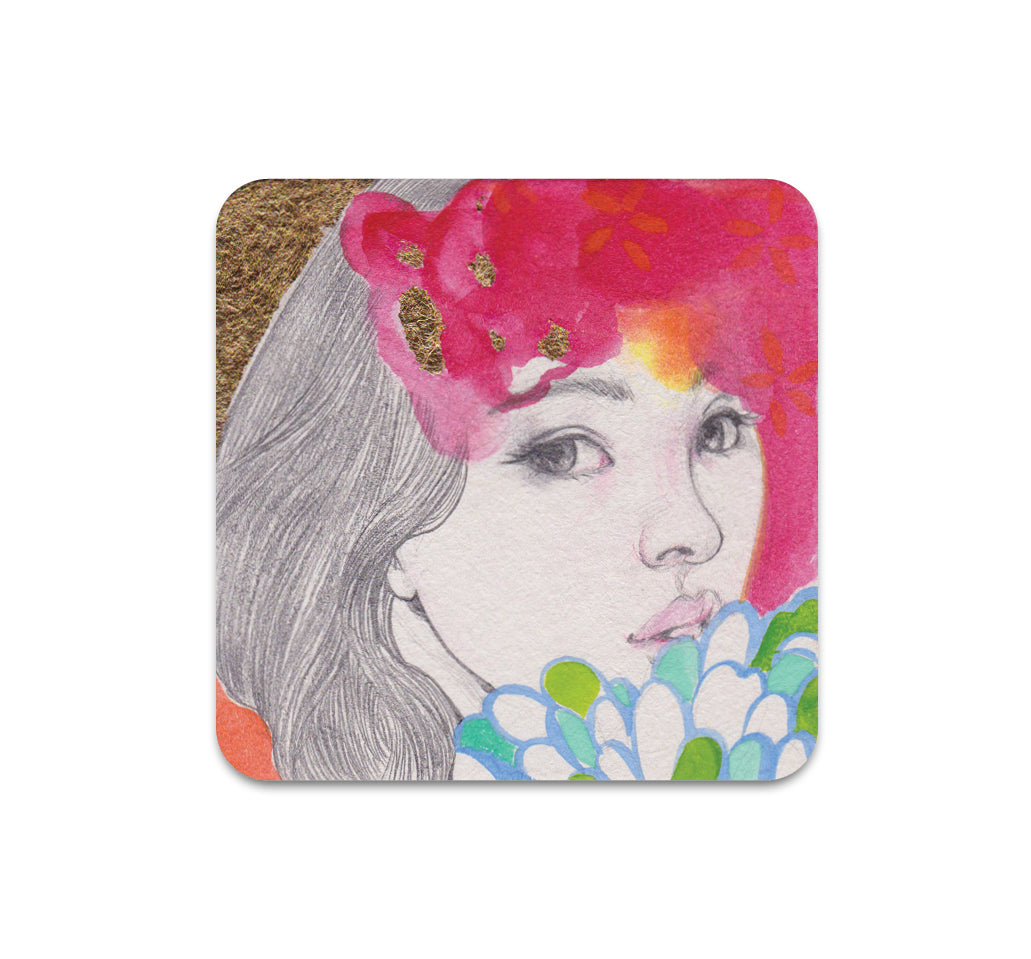 Helice Wen - Pattern Square #3 Coaster