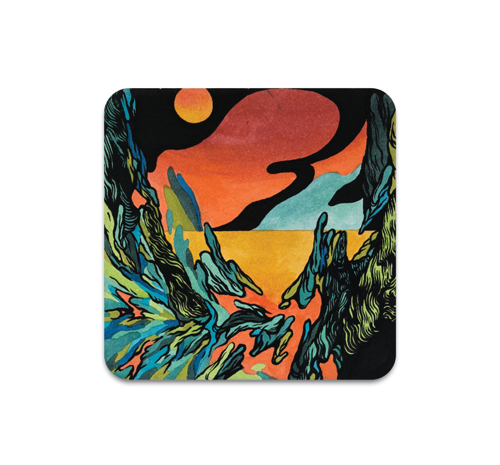 S3 Jacob Van Loon - Untitled 2 Coaster