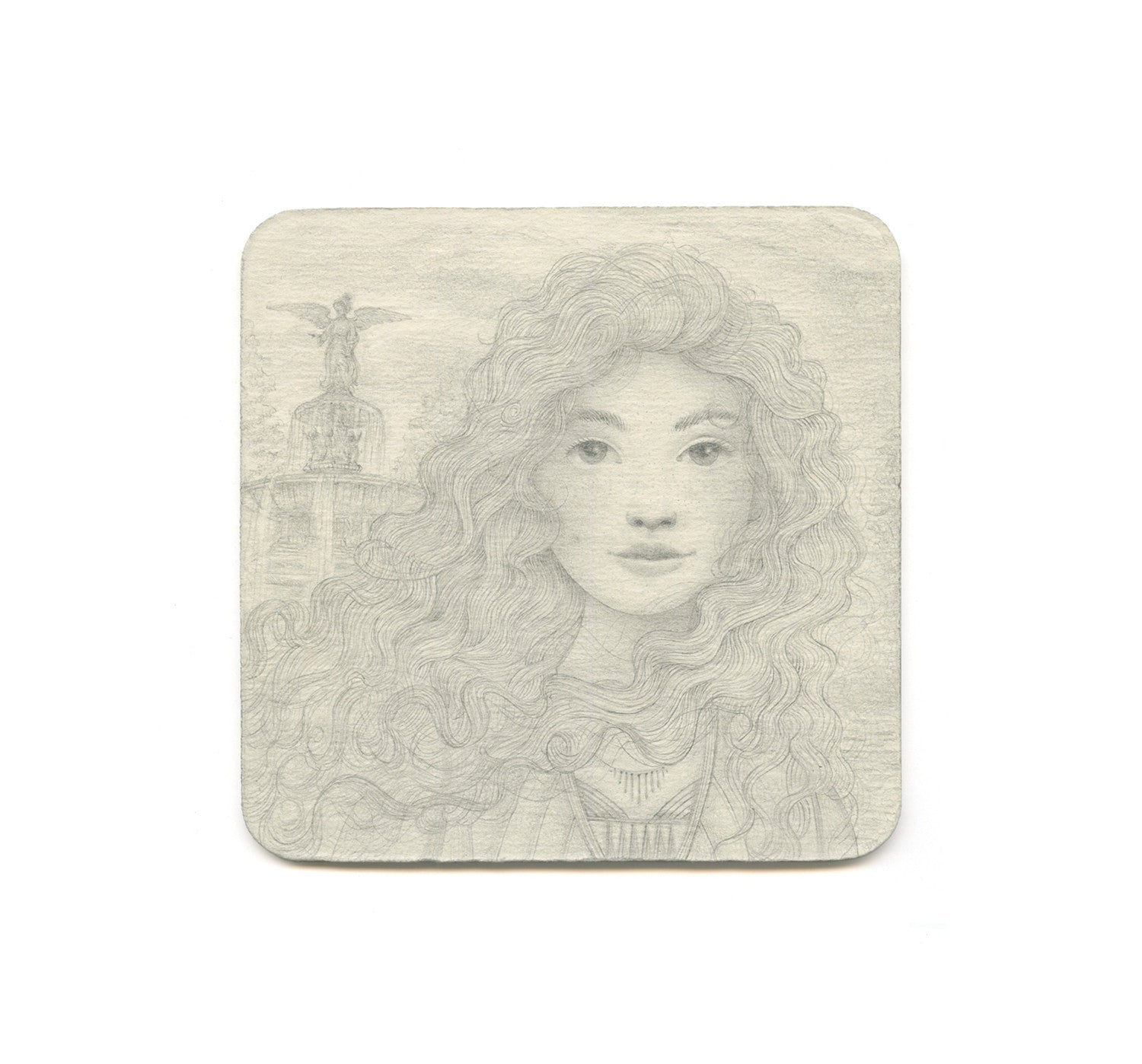 S1 Jaime Zollars - Morgan (Day Warrior Study) Coaster