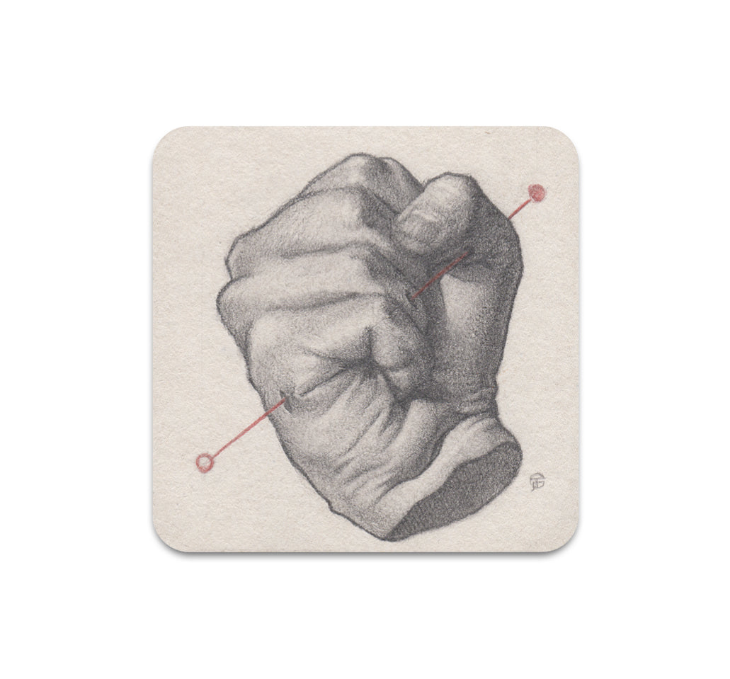 James Taylor Gray - Untitled 3 Coaster