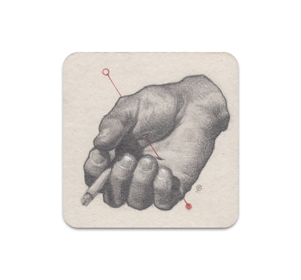 S3 James Taylor Gray - Untitled 5 Coaster