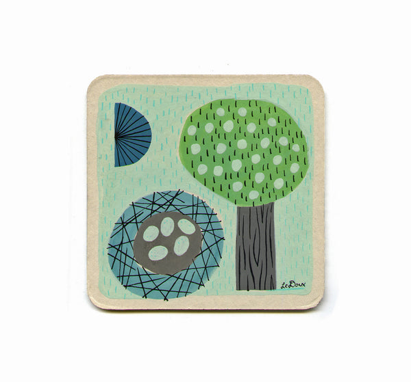 S1 Jesse LeDoux - (Untitled 2) Coaster