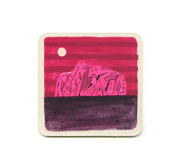 S1 Jesse LeDoux - (Untitled 3) Coaster