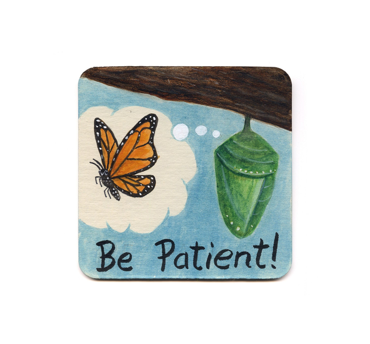 S1 Kevin Chan - Be Patient! Coaster