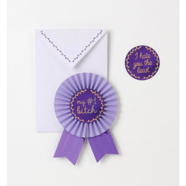 Prize Ribbon Card