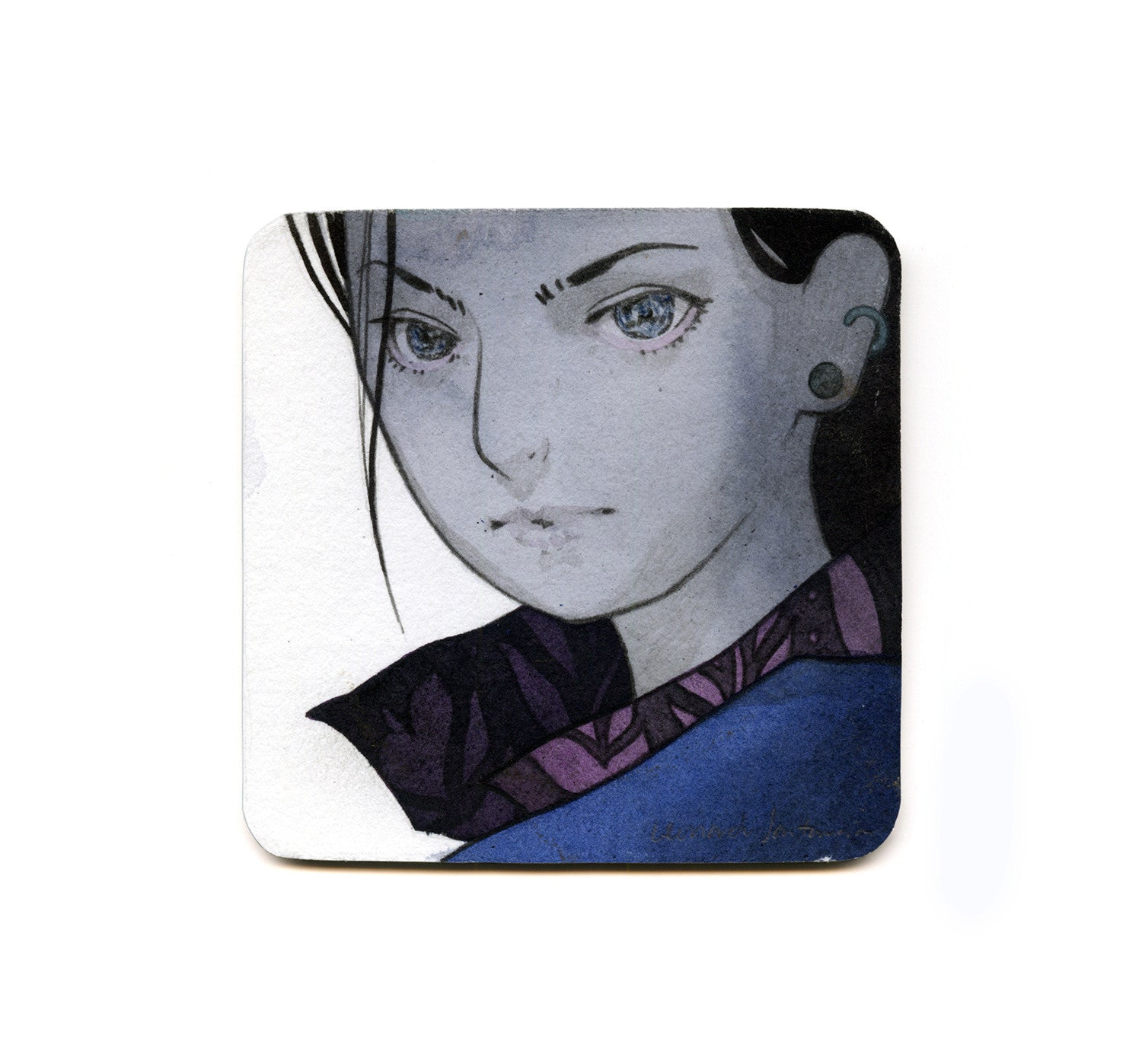 S1 Leonardo Santamaria (Untitled 2) Coaster