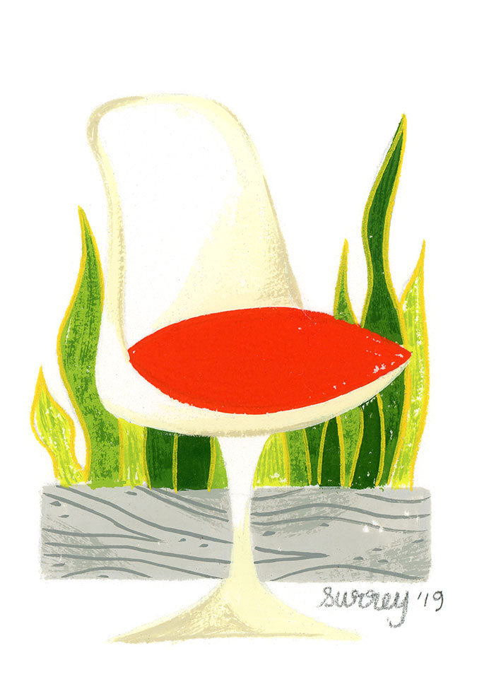 Ellen Surrey - Tulip Chair