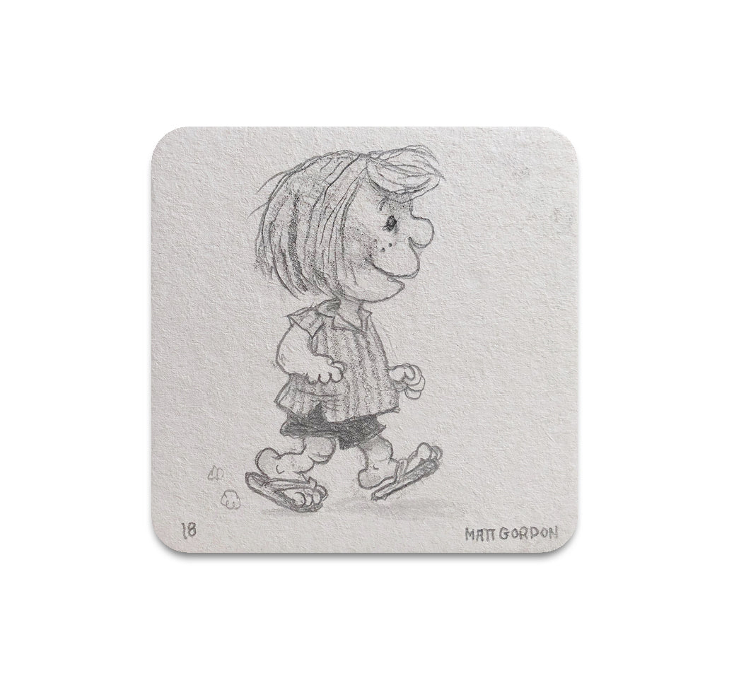 Matt Gordon - Peppermint Patty Coaster