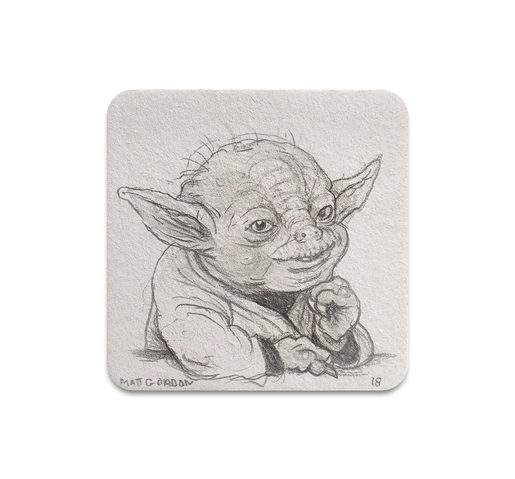Matt Gordon - Stoned Yoda Coaster