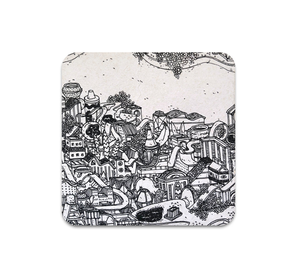 Meredith Miotke - City 1 Coaster