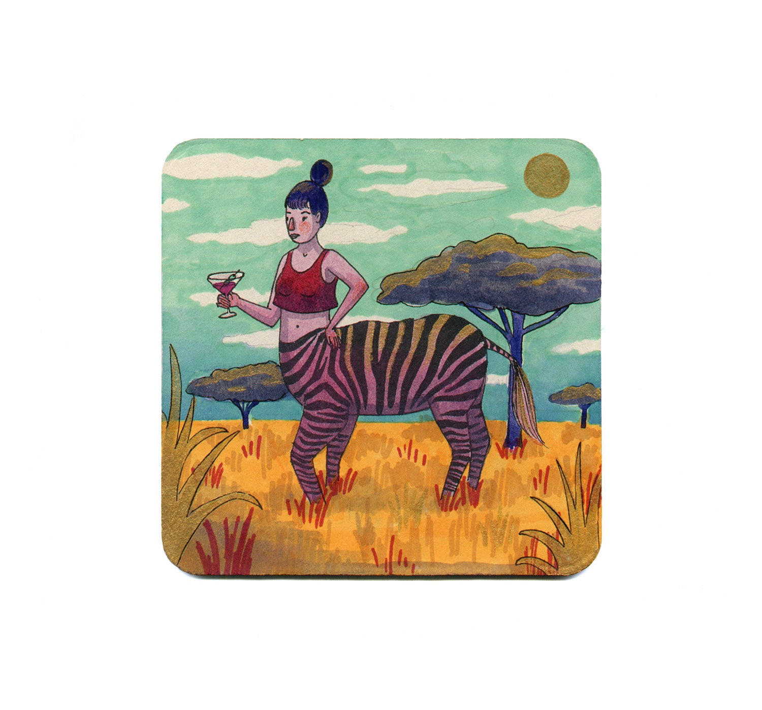 Molly Walsh - Zebra Centaur Coaster