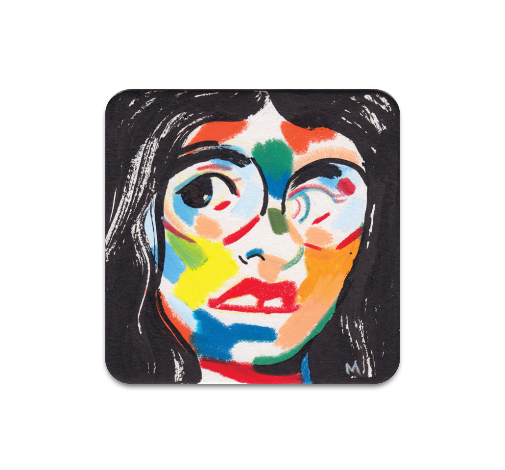 Molly Mendoza - Watchful Eye Coaster