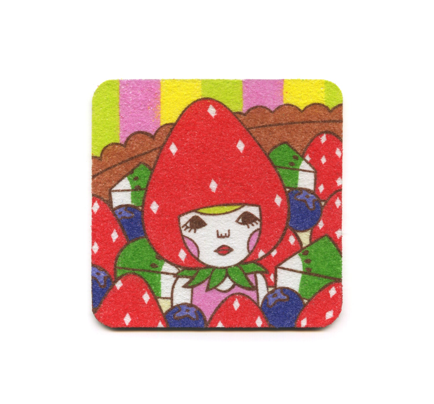 S2 Naoshi - In A Fruit Tart Coaster