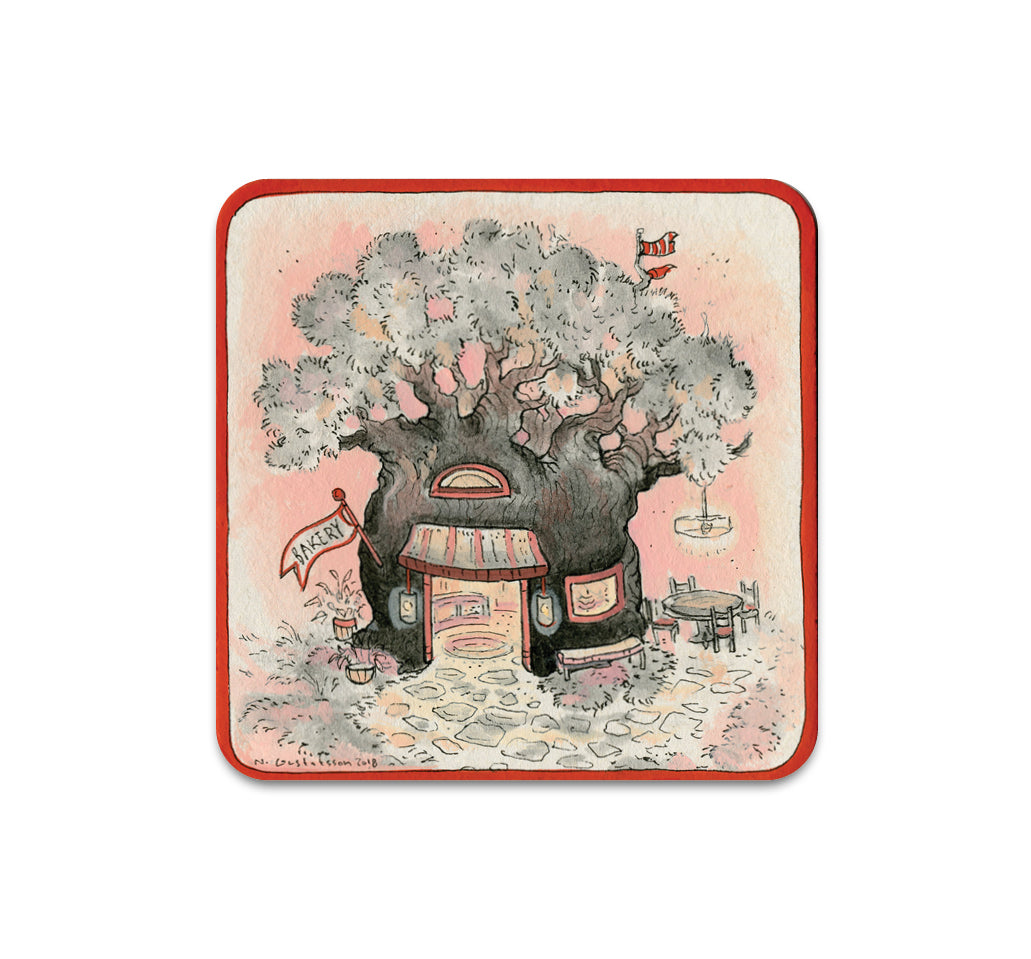 S3 Nicole Gustafsson - Cherry Treehouse Coaster