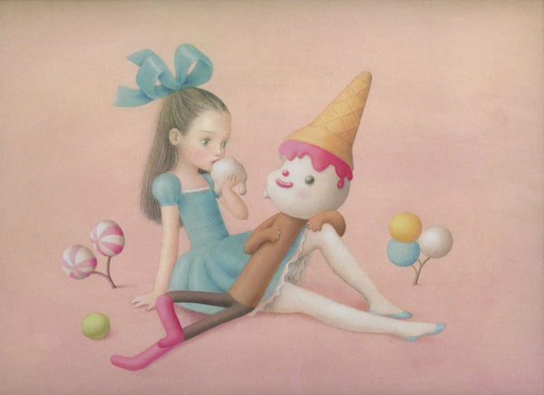 Nicoletta Ceccoli - Melt With You Print