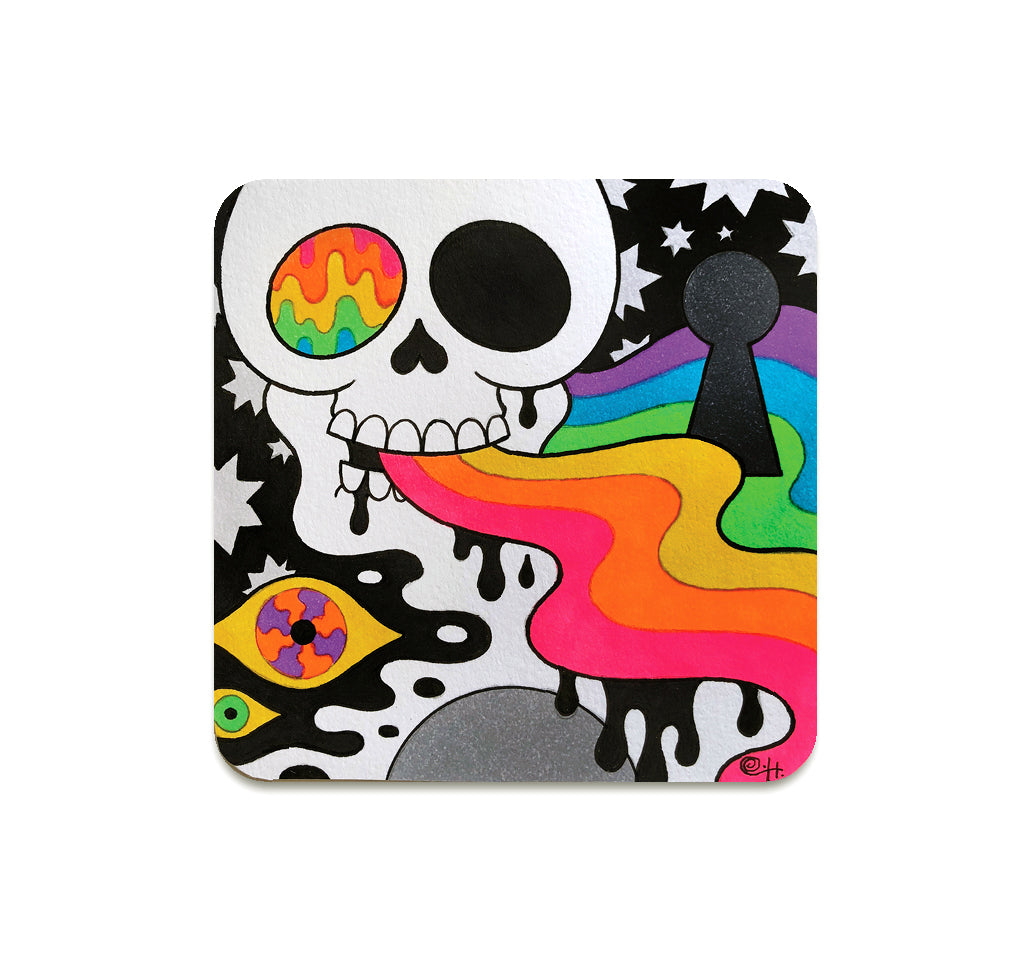 Oliver Hibert - Lovely Little Death 2 Coaster