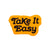 Take It Easy Patch (Black/Golden Rod)