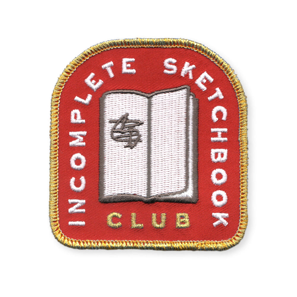 Incomplete Sketchbook Club Patch