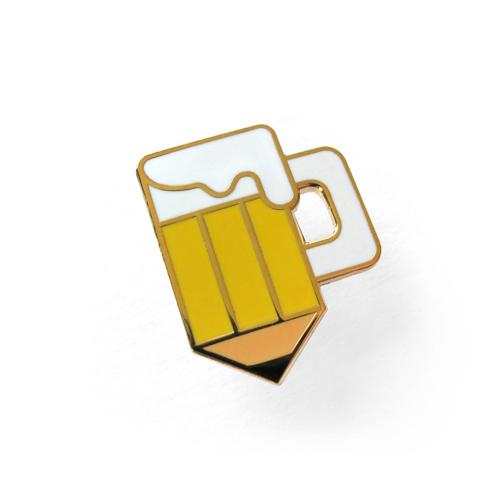 Drink and Draw Society Pin