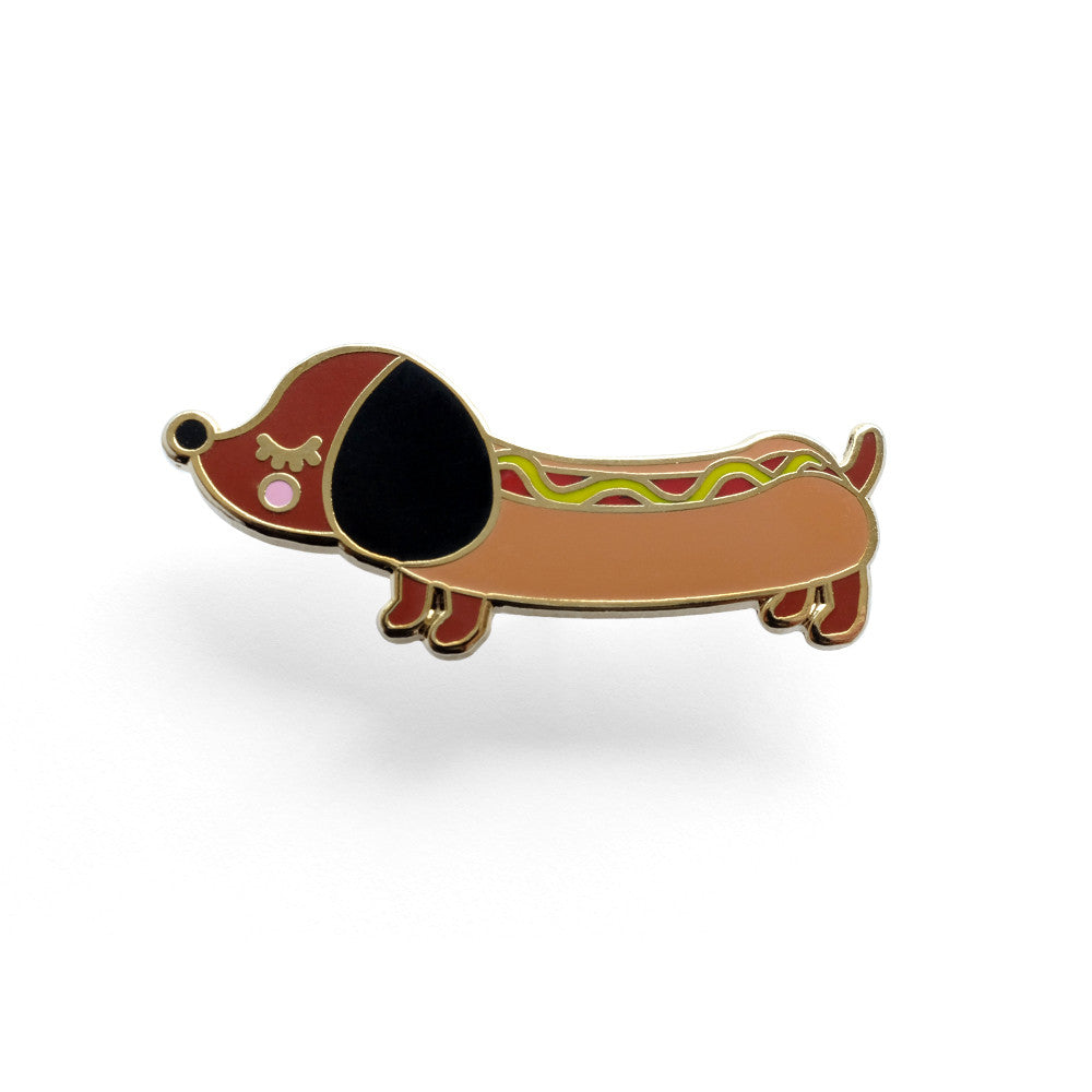 Wiener Dog Pin
