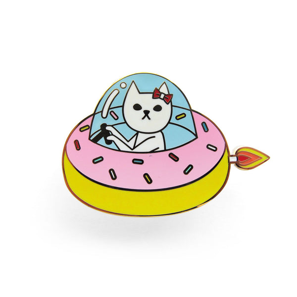 Naoshi - Cat in Donut Jet