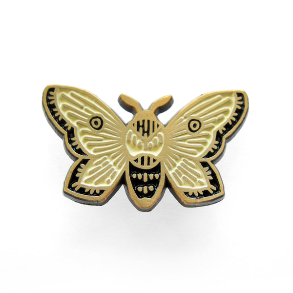 Teagan White - Moth Pin