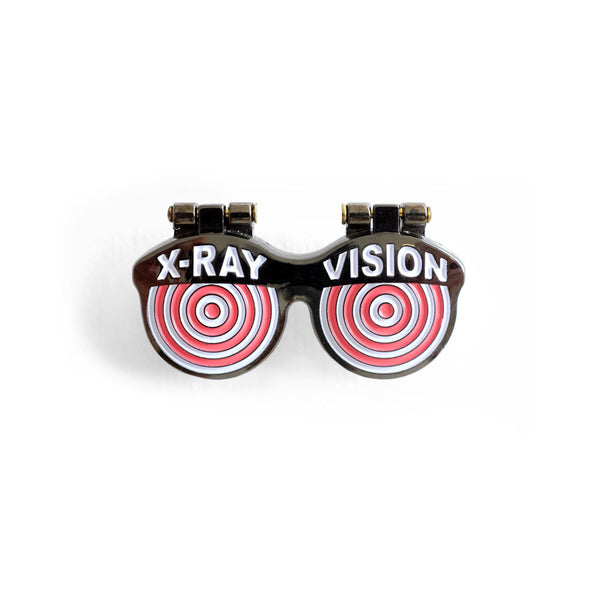 X-Ray Vision Pin (blonde)