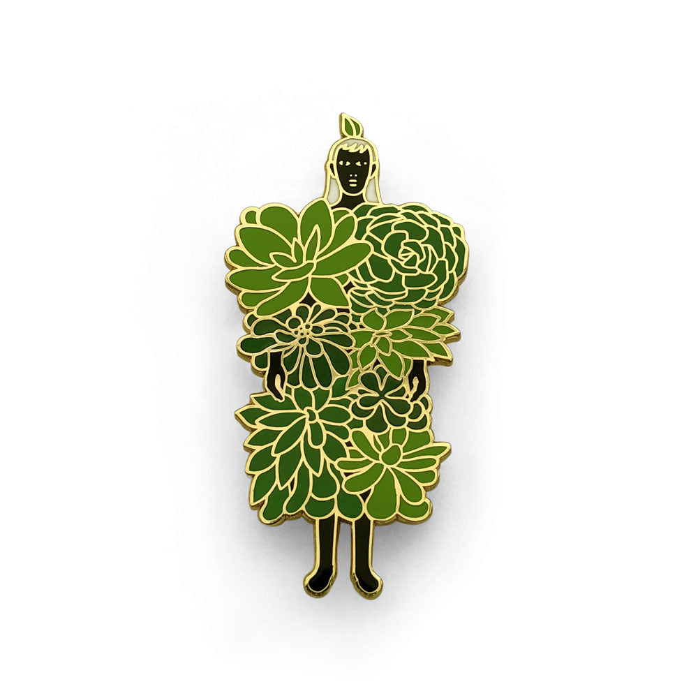 Dadu Shin - Succulents Pin