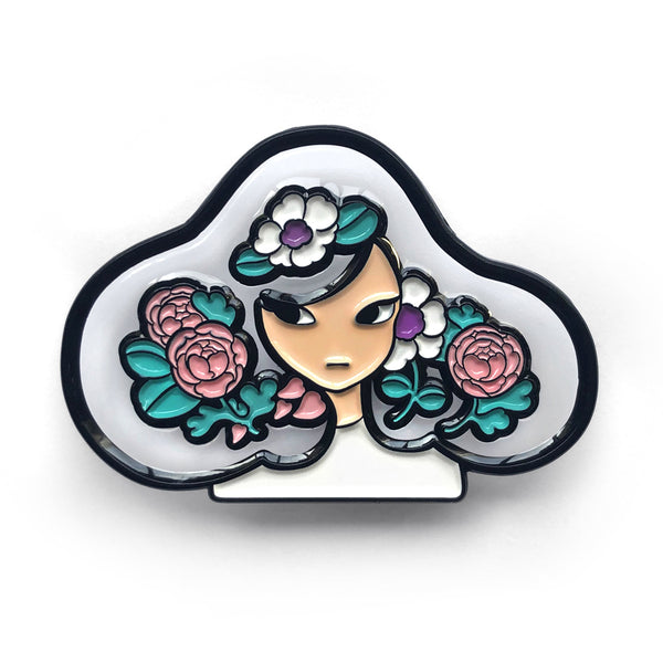 Meyoco - Transparent Bloom Pin