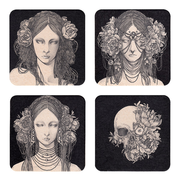 Andi Soto - Witches Prints (4 pc. Set)