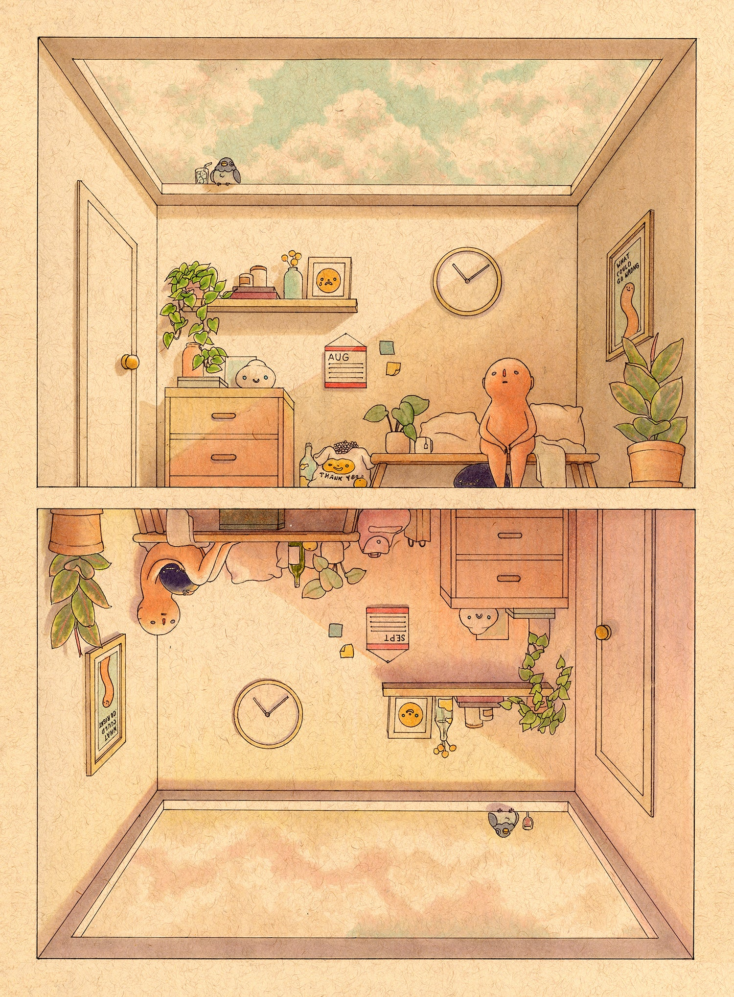 Felicia Chiao - Where Has the Time Gone Print