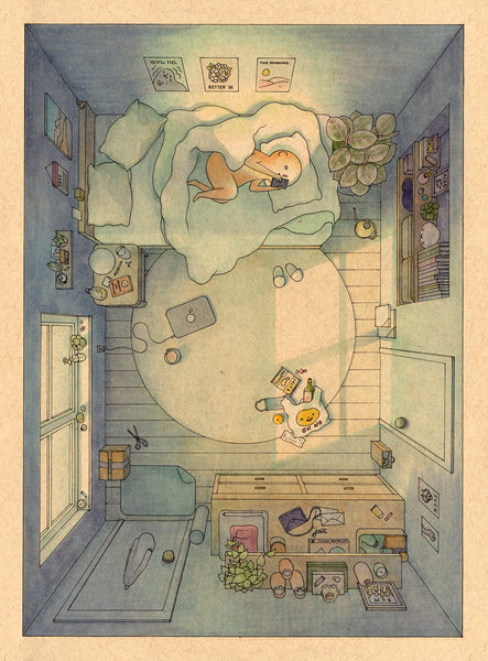 Felicia Chiao - You'll Feel Better in the Morning Print