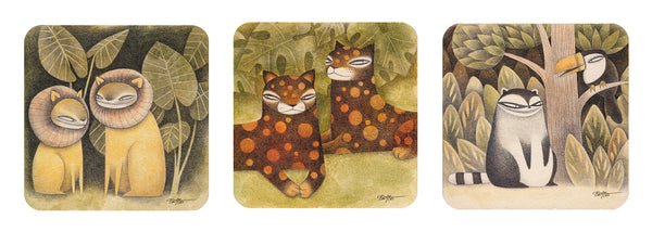Kim Slate - Jungle Secrets Prints (3 pc. Set)