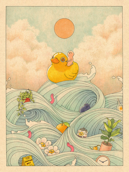 Felicia Chiao - Rubber Duck At Sea